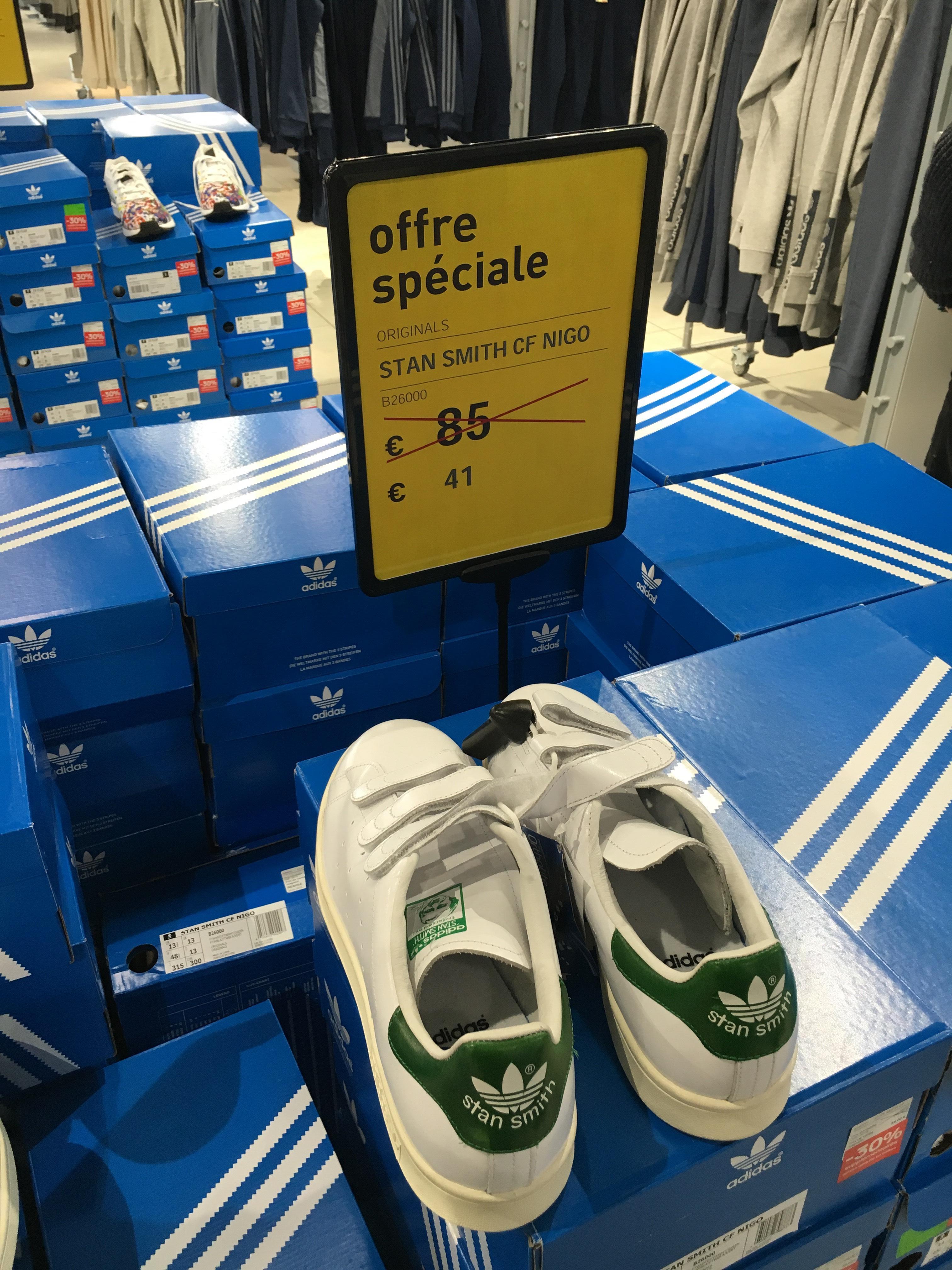 Chaussures Adidas Stan Smith CF Nigo