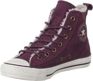 Chaussures Converse All Star Chelsea Shearling W - Bordeaux (Tailles 36/36.5)