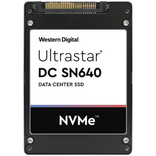 "SSD Interne 2,5"" Western Digital ULTRASTAR SN640 WUS4CB032D7P3E3 - 3,2To, NVMe DWPD 2"