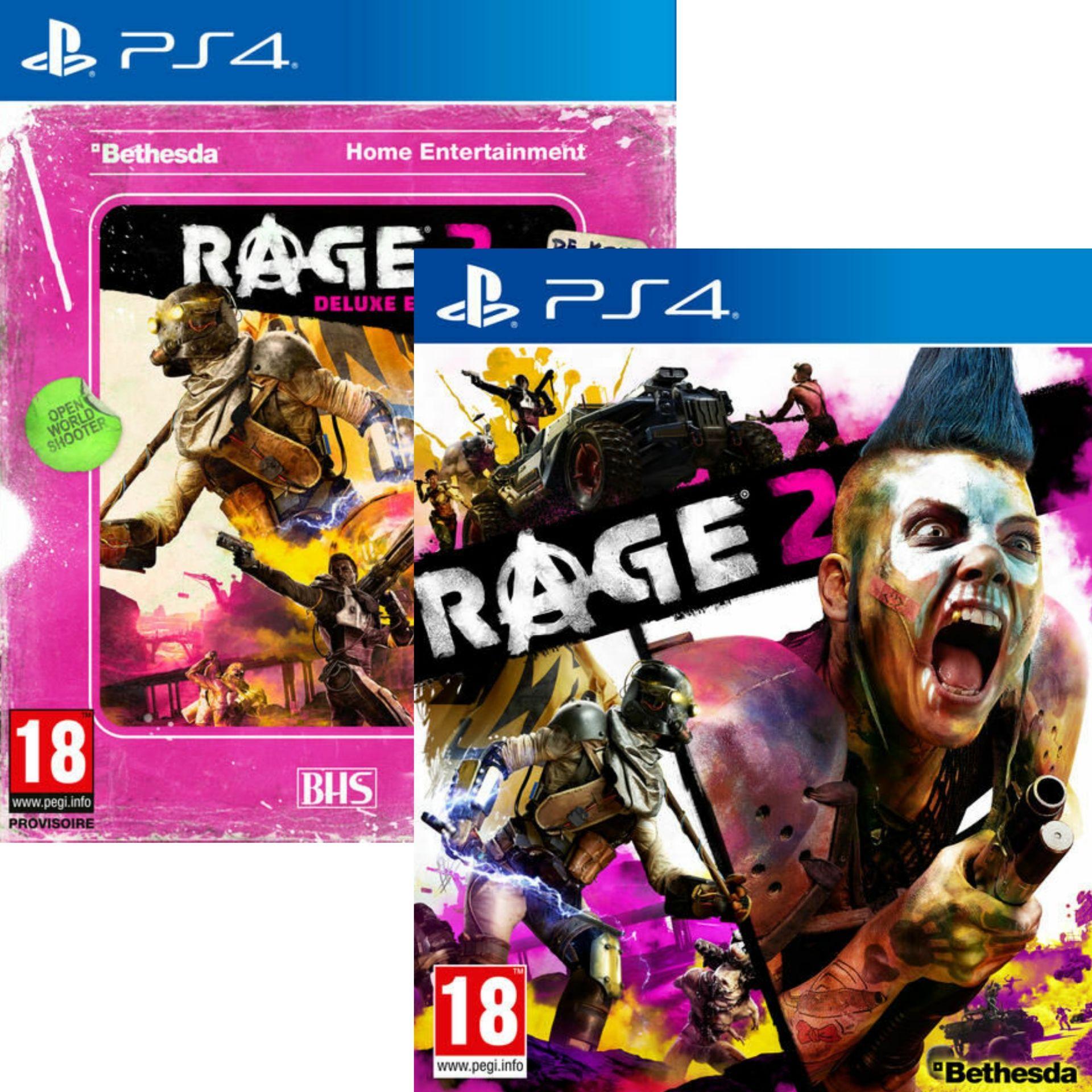 Rage 2 édition standard ou deluxe sur PS4