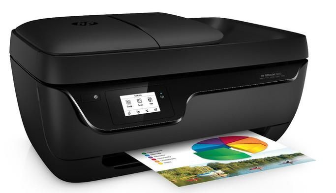 Imprimante multifonction HP Office Jet 3830 - Jet d'encre, Couleur, Wifi (via ODR de 20€)