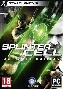 Jeu PC Splinter Cell - Ultimate Edition