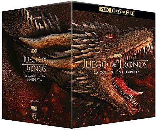 Coffret Blu-Ray 4k Game of Thrones - L'intégrale de la série
