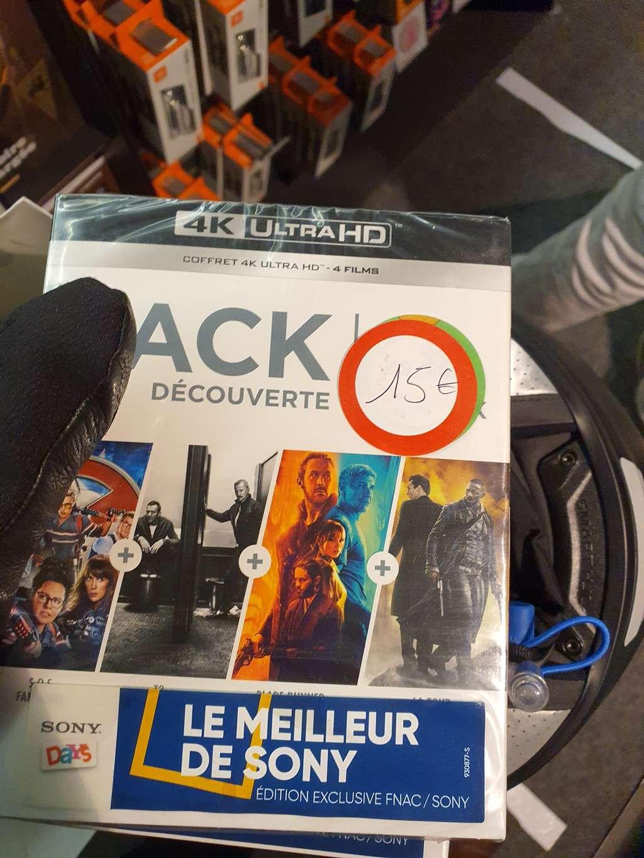 Sélection de coffrets Blu-ray 4K UHD Le Meilleur de Sony Pack Découverte à 15€ - Paris 17ème (75)