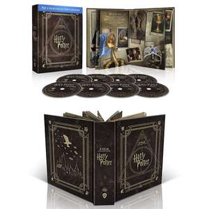 Édition collector Blu-Ray Harry Potter - Magical Collection (coffret similicuir 8 disques + digibook, vf disponible)