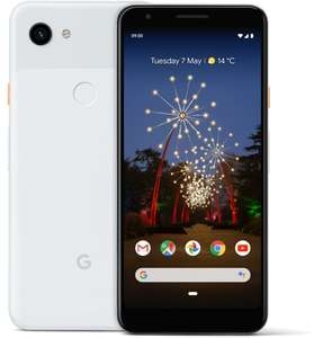 "Smartphone 5.6"" Google Pixel 3A - Full HD+, SnapDragon 670, 4 Go de RAM, 64 Go, Blanc (+ 7.43€ en Rakuten Points)"