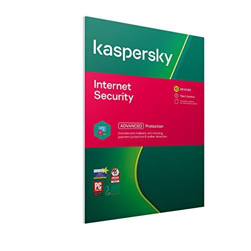 Licence pour Kaspersky Internet Security 2021 - 1 an, 10 appareils