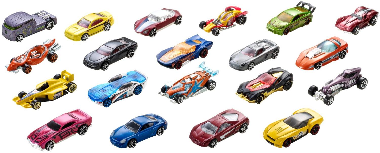 Coffret de 20 petites voitures Hot Wheels