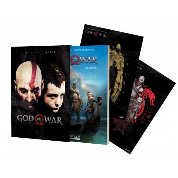 Sélection de livres en promotion - Ex : God of War Édition Collector - OmakeBooks.com