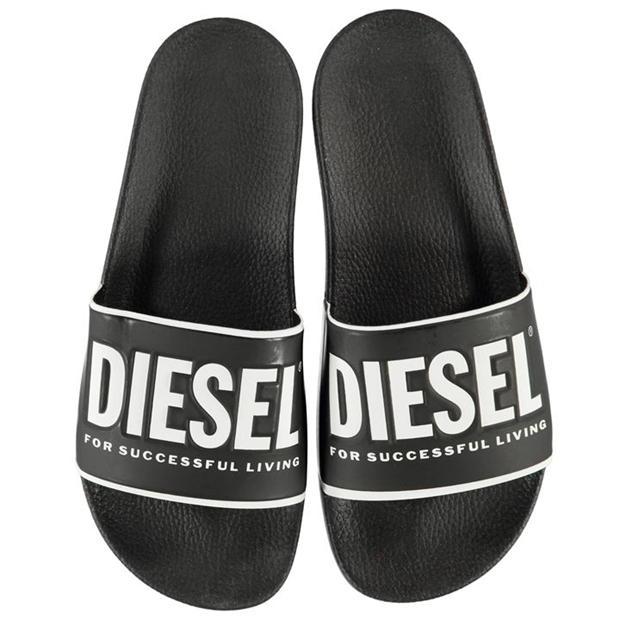 Claquette Diesel (Blanc ou Noir)
