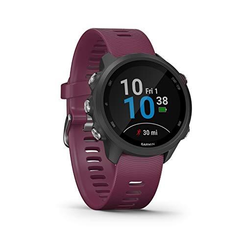 Montre GPS Garmin Forerunner 245 - Couleur cerise (Frais de douane inclus)