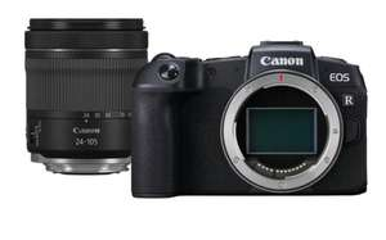 Kit appareil photo numérique Canon EOS RP (26.2 Mpix, CMOS) + objectif 24-105mm f4-7.1 IS STM (frontaliers Allemagne)