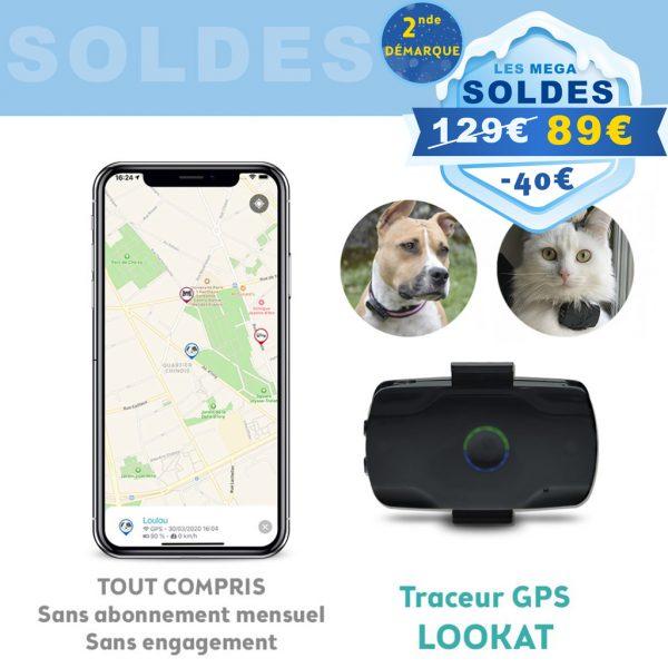 Traceur GPS pour animaux Localiz Lookat (avec géolocalisation gratuite en Europe pendant 1 an) - Localiz.io