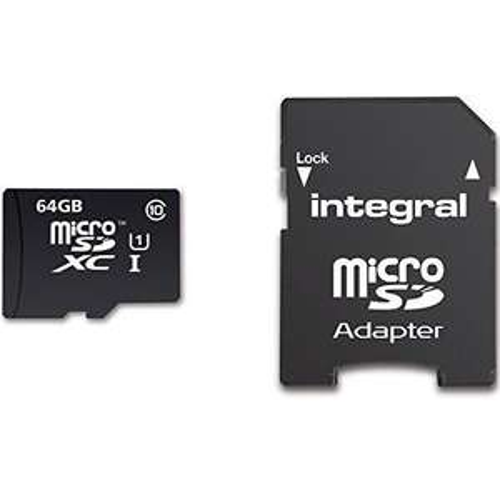 Carte microSDXC Integral UltimaPro - 64 Go