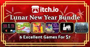 Lunar New Year itch.io Selects Bundle : 6 Jeux PC dont Baba is You, Quiet as a Stone, Frog Detective 2 (dématérialisé - DRM Free)