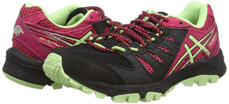 Chaussures de Trail Asics Gel-fujiattack 4 pour Femmes - Noir, Tailles 36, 37 & 37,5