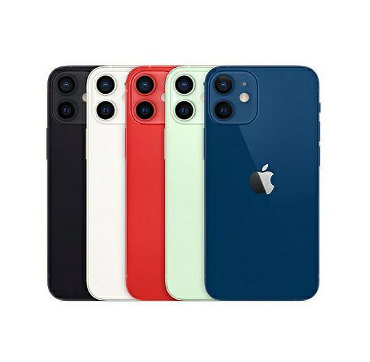 "Smartphone 5.4"" Apple iPhone 12 Mini - 64 Go, différents coloris (Frontaliers Suisse)"