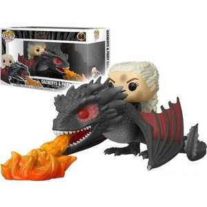 Sélection de Figurines Pop Game of Thrones - Ex : Daenerys On Fiery Drogon - Bourges / Cholet (18/49)