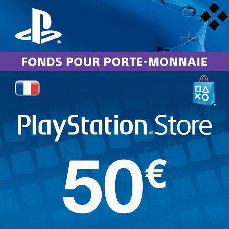 Carte de 50€ sur le PlayStation Store via le site Eneba (dématérialisée)