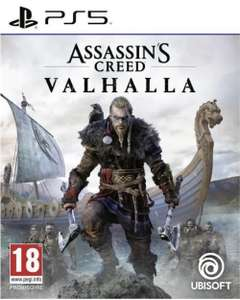 Assassin's Creed Valhalla sur PS5 (Boitier UK)