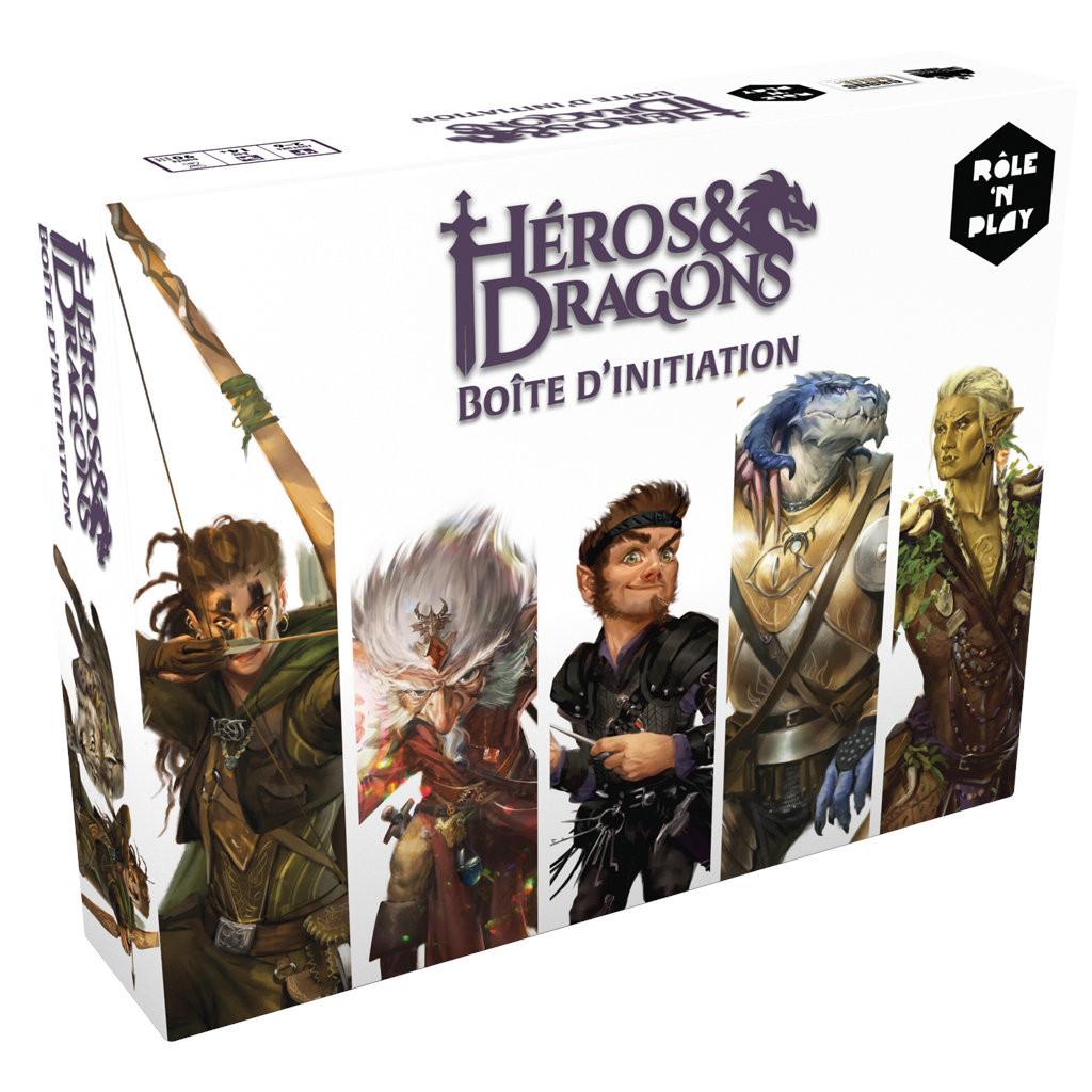 Boite d'initiation Héros & Dragons