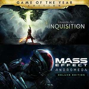 Pack Dragon Age Inquisition Game of the Year Edition + Mass Effect Andromeda Deluxe Edition sur PC (Dématérialisés - Steam)
