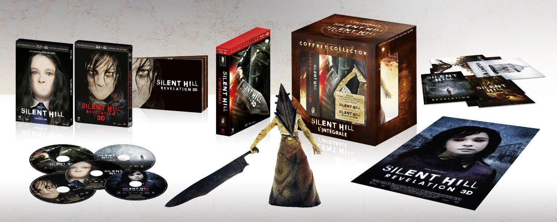 Coffret Blu-Ray 3D Silent Hill + Silent Hill : Révélation - Édition Collector Numérotée