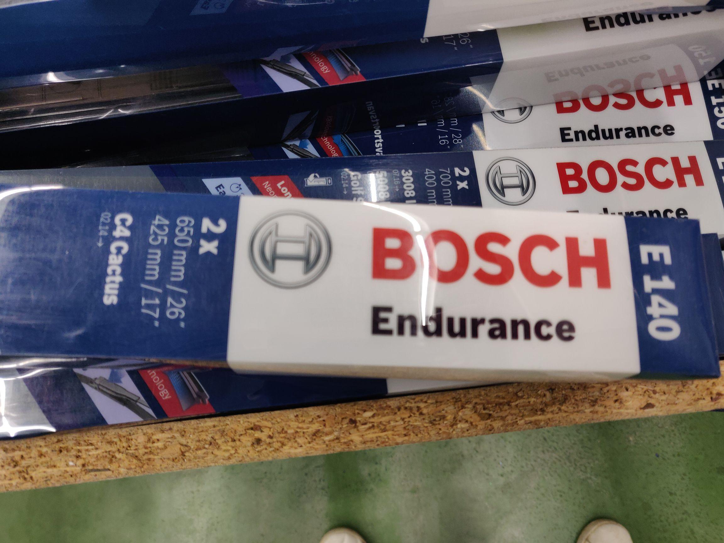 Sélection de balais d'essuie-glaces en promotion - Ex : Bosch Endurance E140 - Cormontreuil (51)