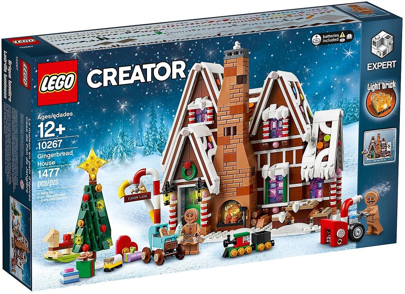 Jouet Lego Creator Expert - La maison en pain d'épice (10267)