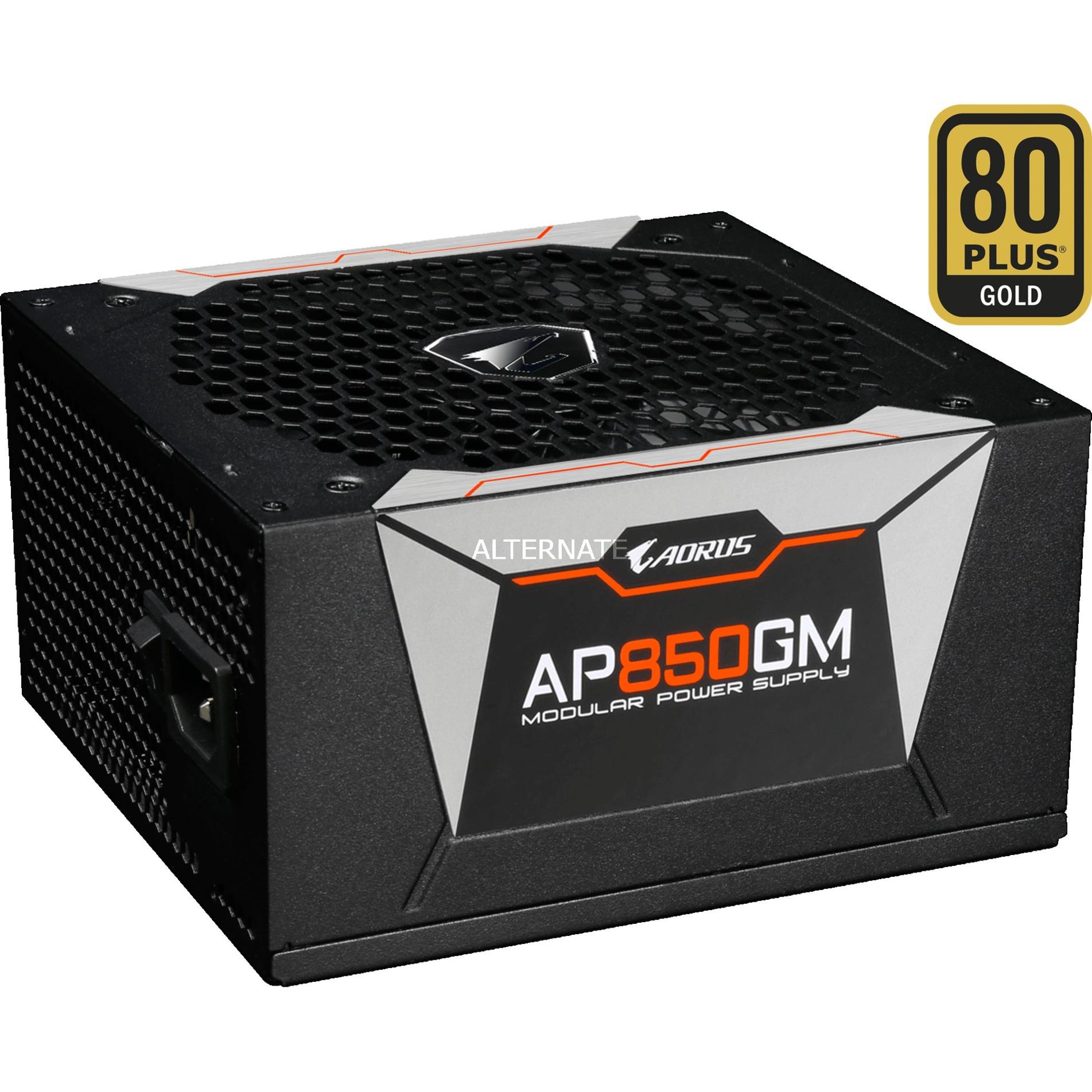 Alimentation PC modulaire Gigabyte Aorus AP850GM - 80+ Gold, 850 W