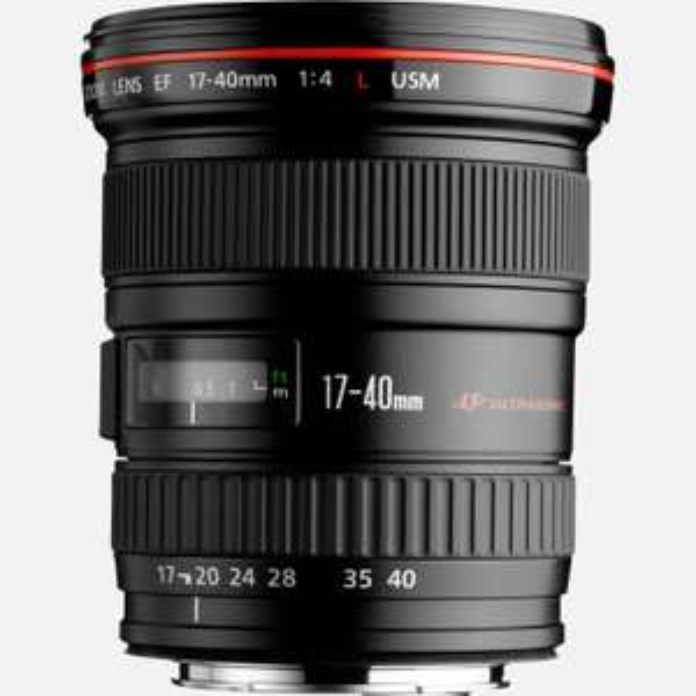 Objectif Canon EF 17-40mm f/4L USM