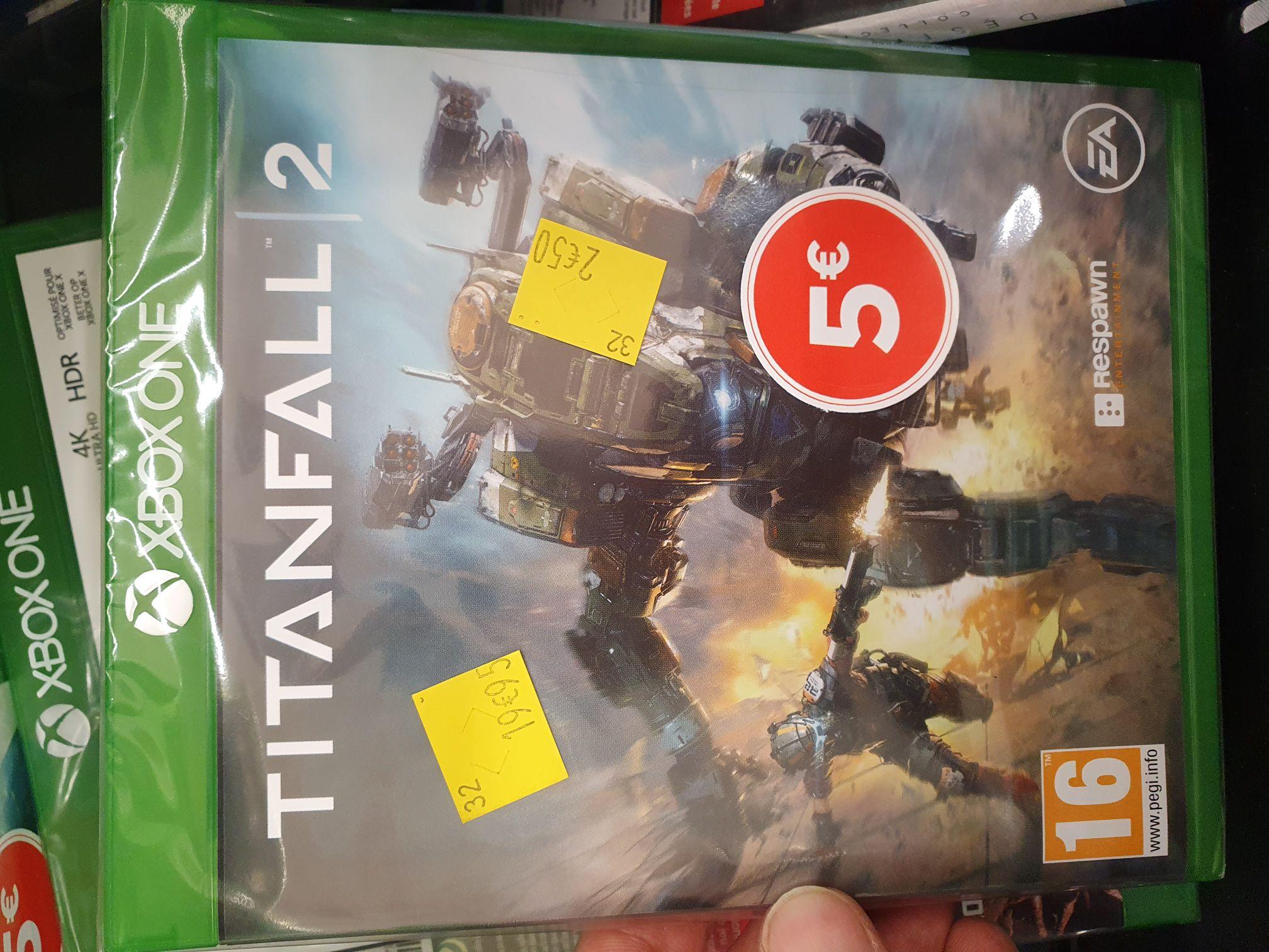 Sélection de jeux vidéo sur Xbox One en promotion - Ex : Titanfall 2 - Lieusaint (77)