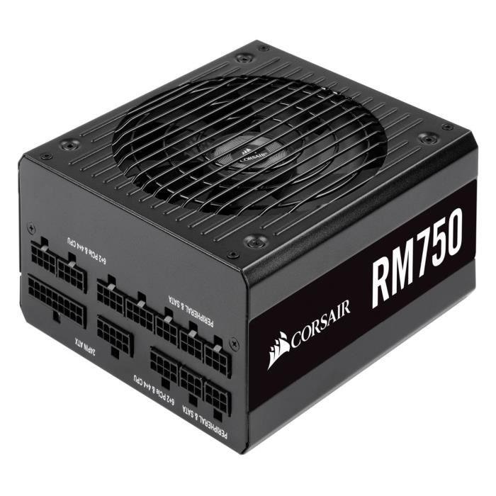 Alimentation PC modulaire Corsair RM750 - 750W