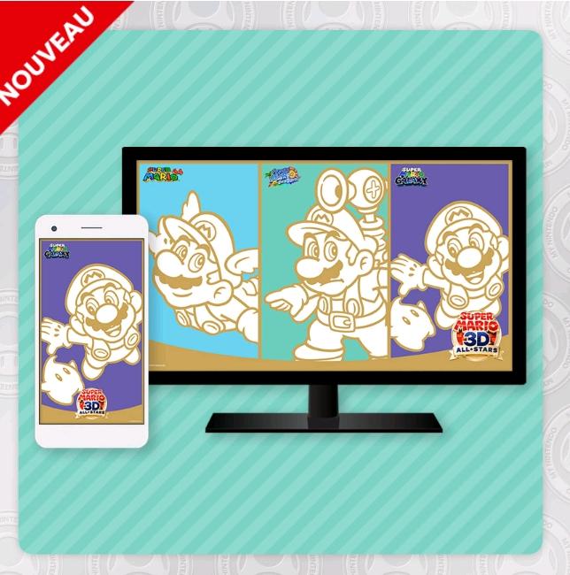 Fonds d'écran gratuits My Nintendo Super Mario 3D All-Stars (Dématérialisés - PC / Smartphone / Tablette)