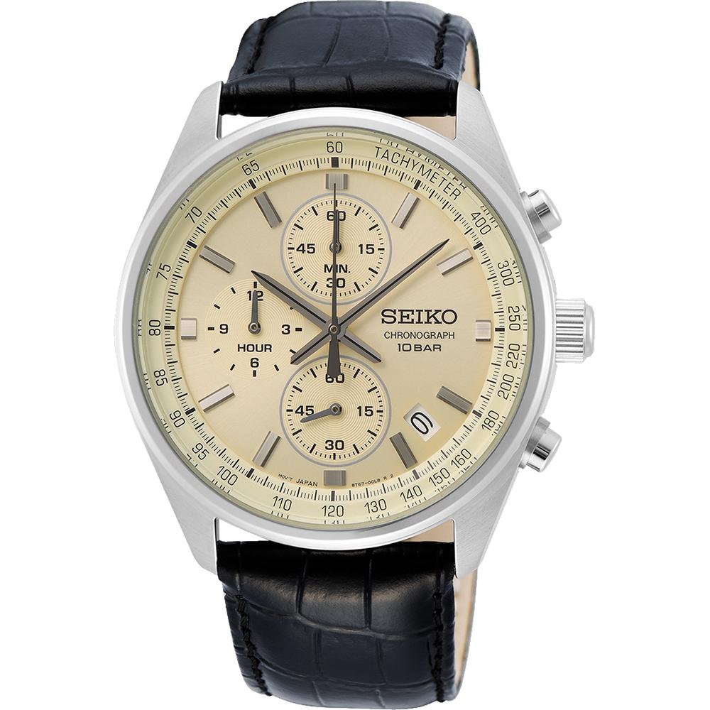 Montre Chronographe à Quartz Seiko SSB383P1 - 41mm