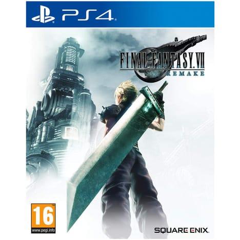 Final Fantasy VII Remake sur PS4