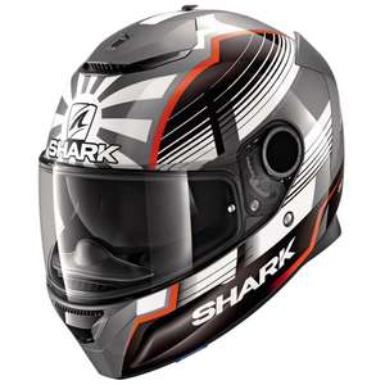 Casque moto Shark spartan 1.2 Replica Zarco malaysian GP
