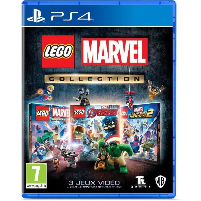 Jeu Lego Marvel Collection sur PS4