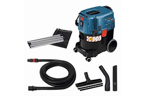 Aspirateur Industriel Bosch Professional 06019C3000 GAS 35 L SFC+ - 1200 W, Cuve de 35 L, Flexible de 3m