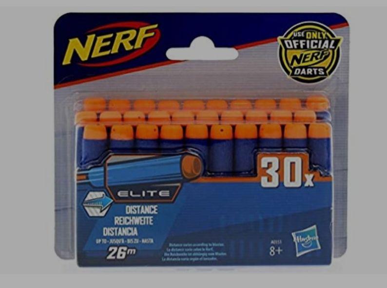 Pack de 30 Flechettes Nerf Elite Officielles