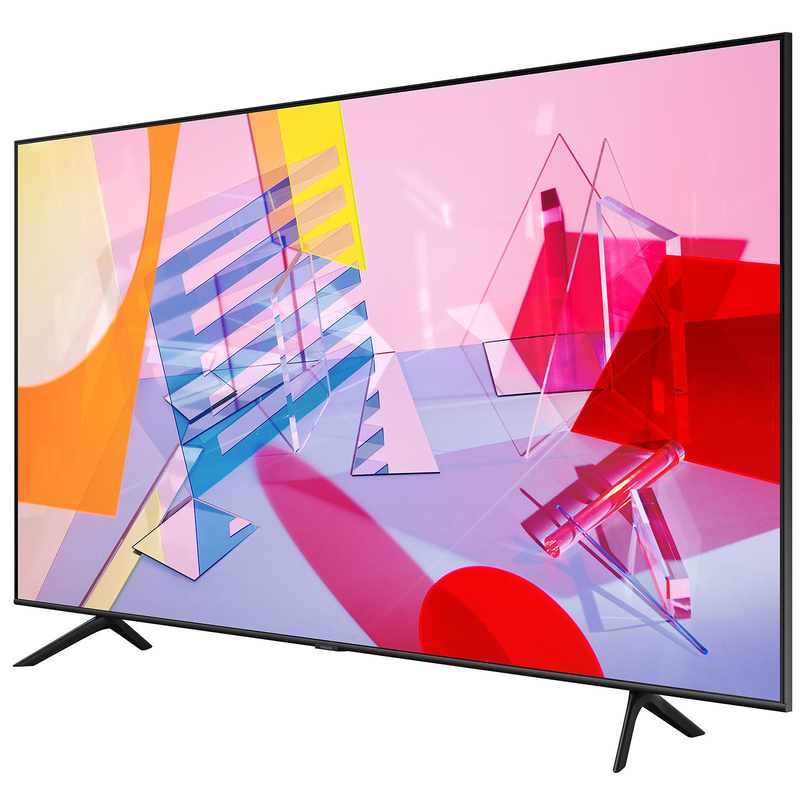 """25% remboursés via ODR sur une sélection de TV QLED Samsung - Ex : TV 55"""" Samsung QE55Q60T (2020) - 4K UHD, QLED, Smart TV (via ODR 199,75€)"""