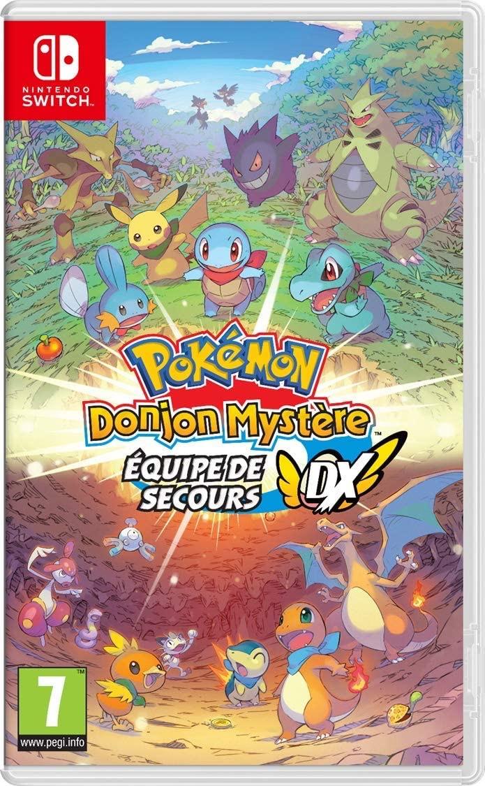 Pokémon Donjon Mystère : Équipe de secours DX sur Nintendo Switch