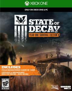 Sélection de Jeux Xbox One en Promotion - Ex : State of Decay: Year One Survival Edition