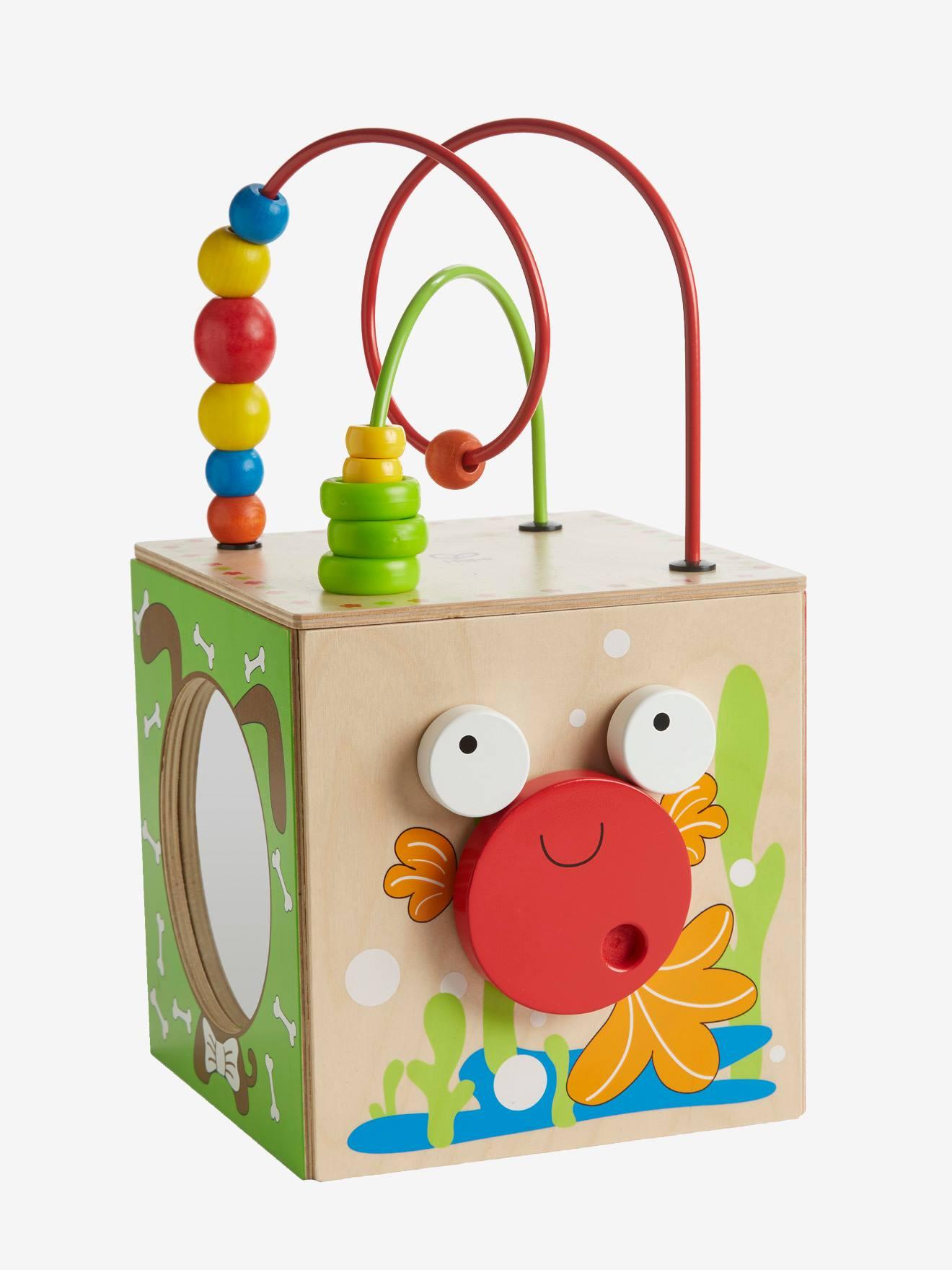 Jouet en bois pour enfant Hape Grand Cube d'Activités