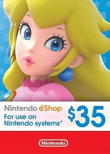 Carte de 29.09€ (35$) pour le Nintendo eShop (dématérialisée, store US)