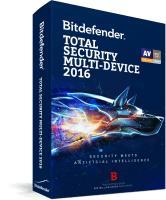 Antivirus Bitdefender Total Security Multi-Device 2016