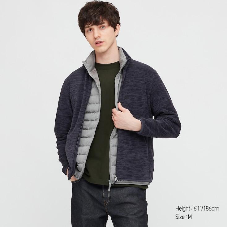 Veste Zippée en Polaire Manches Longues Uniqlo pour Homme (différents coloris et tailles)