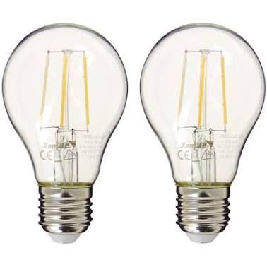Lot de 5 ampoules LED (E27, 60W, 806 lumens)