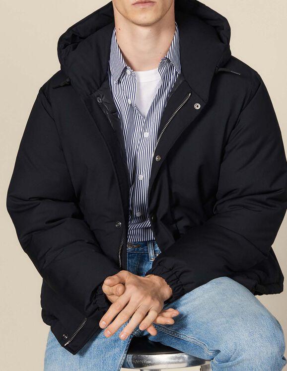 Sélection d'articles en promotion - Ex : Doudoune Courte à capuche (Taille XL)