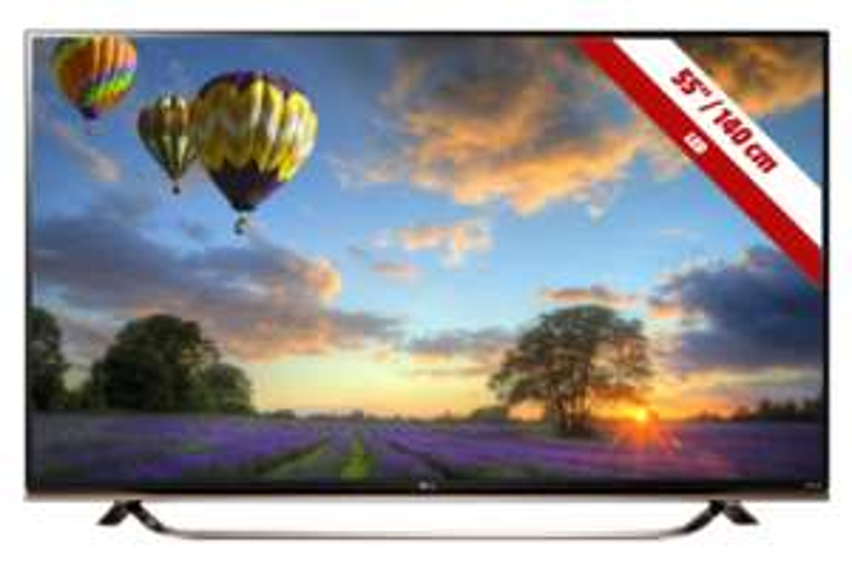 "TV 55"" LG 55UF8607 - Super UHD 4K IPS, LED, 3D, 1700 Hz, Audio Harman Kardon, Smart TV"